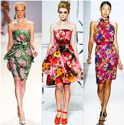 Summer 08 Trends Floral The Catwalk Looks by Flower Power Fashion Finds