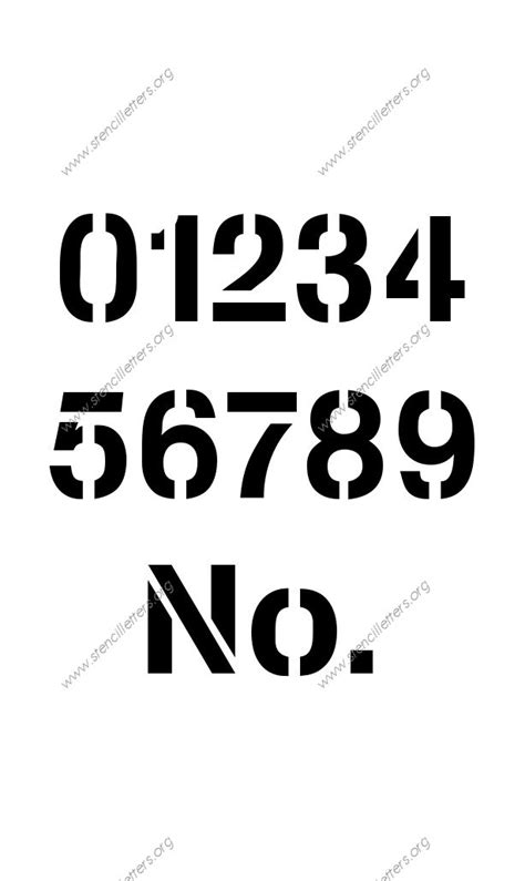 printable army number stencils army modern number stencils 0 to 9 stencil letters org