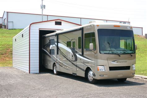 motorhome garage rv garage door height steel building garages