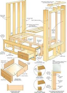 Built In Bed Frame Design Bedstee Maken I My Interior