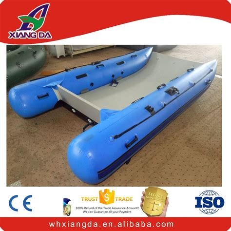 catamaran electric motor fishing catamaran inflatable boat with electric motor