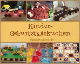 kuchen kindergeburtstag kindergarten kindergeburtstagskuchen einfache und lustige rezepte