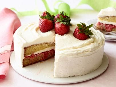 ina garten strawberry cake lemon vanilla cake roll recipe food network kitchen