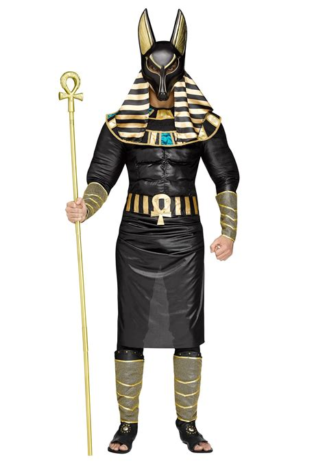 in costume anubis costume