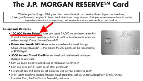 JPM Reserve Card 100,000 Bonus Confirmed! Full Offer Details Included (JP Morgan Card)   The