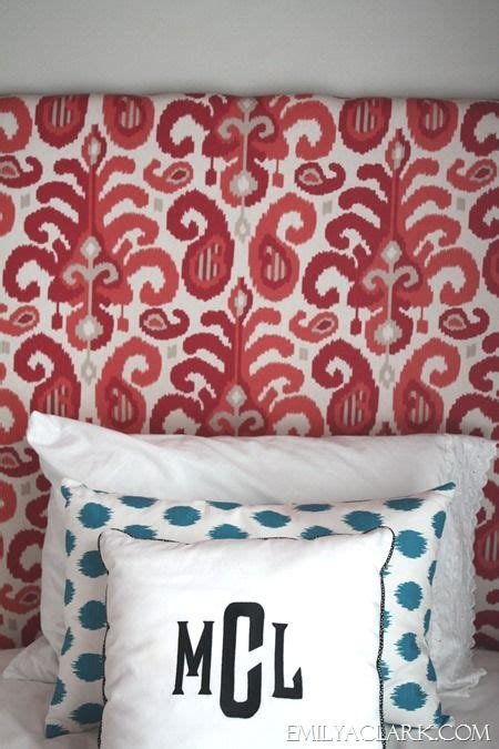 diy fabric covered headboard girls bedroom upholstered headboards diy pinterest