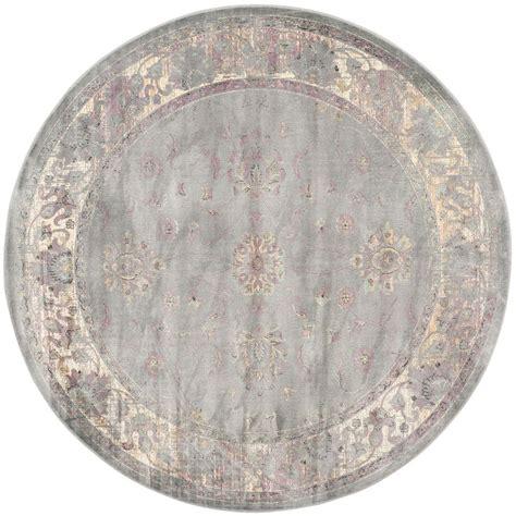 safavieh vintage grey multi 6 ft x 6 ft area rug