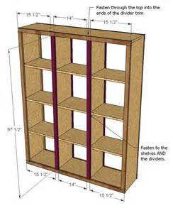 Cheap 2 Shelf Bookcase Ana White Rolling Room Divider Cubbies Diy Projects