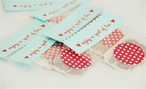 diy wedding favor tea bag diy easy tea bag favors project wedding
