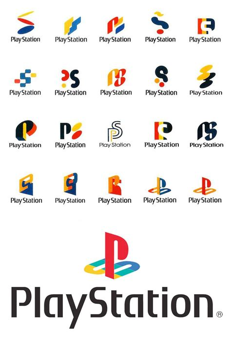 logo layout tips sony playstation 1 logo design ideas and concepts the
