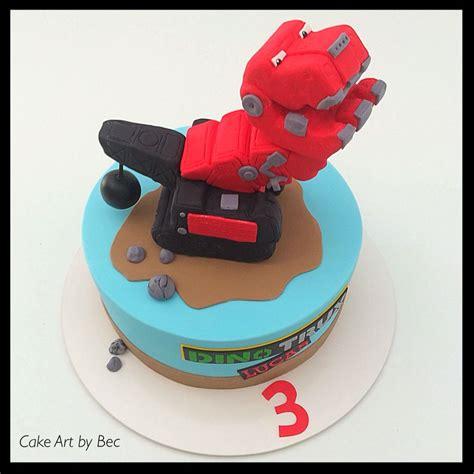 dino trux cake liams birthday party truck birthday cakes cake party cakes