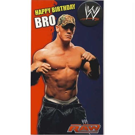 printable john cena birthday cards wwe wrestling birthday cards party invitations ideas
