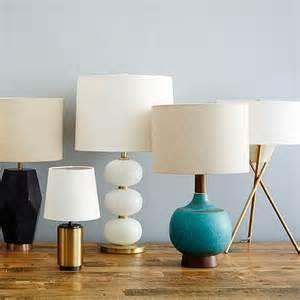 nouveau mid century modern table lamps at west elm light