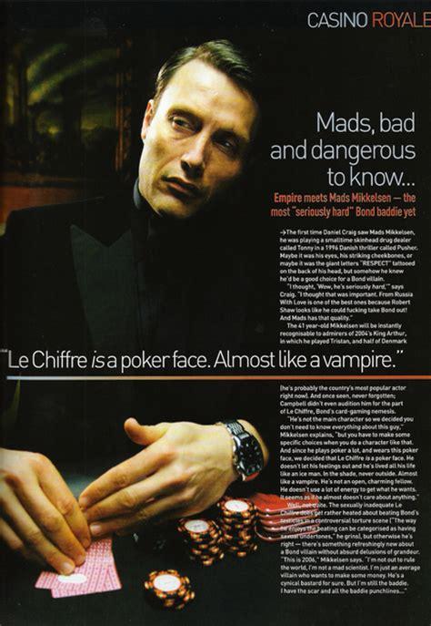 James Bond Casino Royal Quote Le Chiffre Mads Mikkelsen Daniel Craig Casino Royale If Ur Reborn Wouldnt U Be Naked