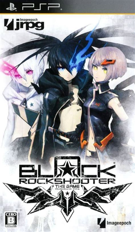 theme psp black rock shooter black rock shooter the game psp iso download