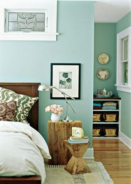 turquoise walls a serene bedroom
