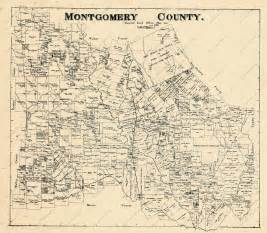 map montgomery county montgomery map