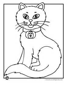 cat color black cat coloring page coloring home