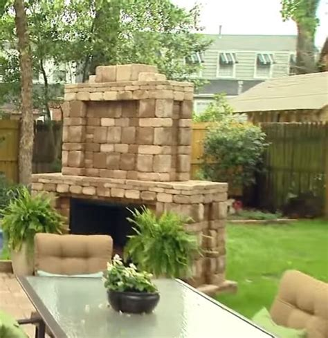 outdoor fireplace kits lowes fireplace kits outdoor