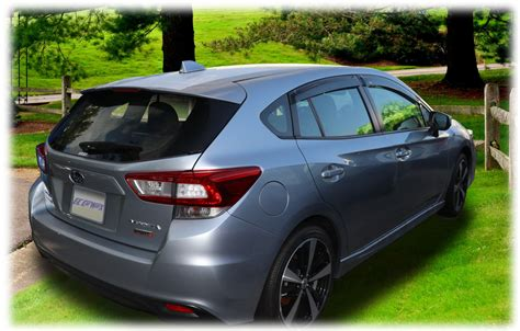 subaru impreza hatchback custom guards for 2017 2018 subaru impreza hatchback