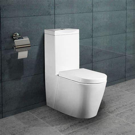 lux aqua stand wc toilette mit spuelkasten nano