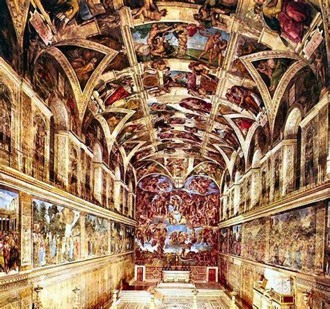 Fresque Plafond Chapelle Sixtine by Les Fresques De La Chapelle Sixtine De Michel Ange 1508
