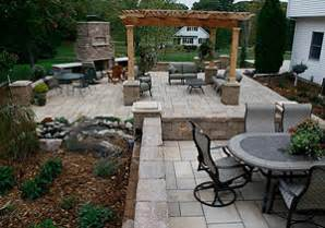 outdoor patio designs hayfield mn landscaping and