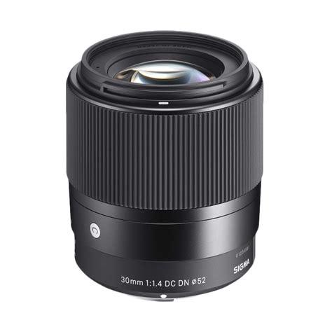 jual sigma 30mm f 1 4 dc dn contemporary lensa kamera for sony e sigma 30mm harga