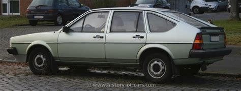 volkswagen hatchback 1980 vw 1980 passat 4door hatchback the history of cars