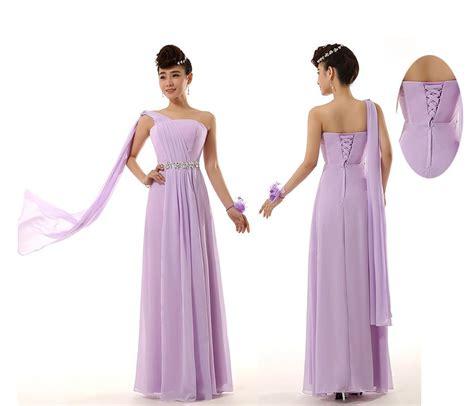Dolimoli Ribbon Shoulder Yellow Dress 2014 new bridesmaid wedding rhinestone one shoulder ribbon