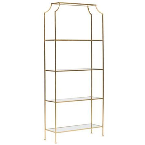 high fashion home high fashion home gold etagere copy cat chic
