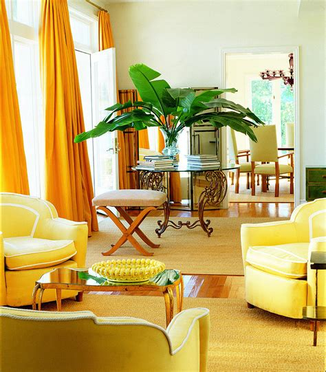 yellow curtains for living room floor to ceiling lemon yellow curtains add drama to the