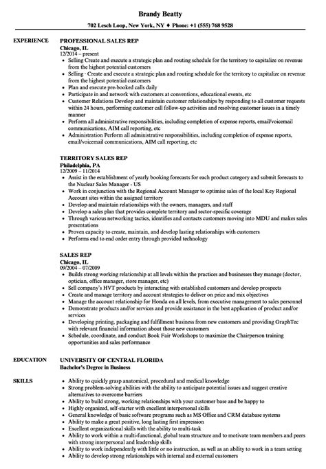 resume template business to business sales resume sample free