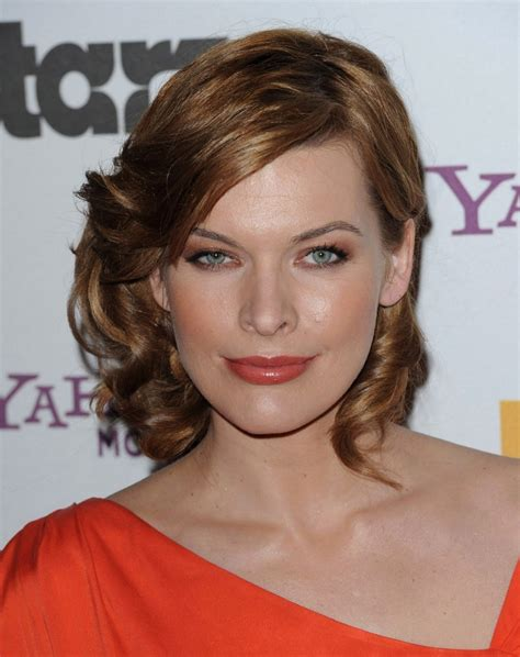 easy to manage wavy hairstyles milla jovovich s hairstyle easy to manage curly