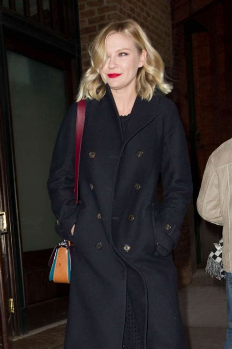 New For Kirsten Dunst Needed by Kirsten Dunst Leaves Hotel In New York