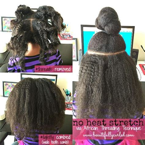 no heat hairstyles short black hair beautifully curled no heat stretching via african