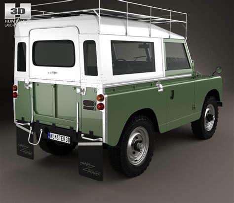 Land Rover Kaos 3d Umakuka land rover series iia 88 1968 3d model hum3d