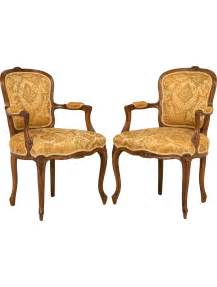 pair of louis xv rococo chairs furniture chair20197