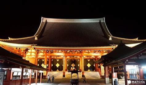 sensoji  night experience  famous temple