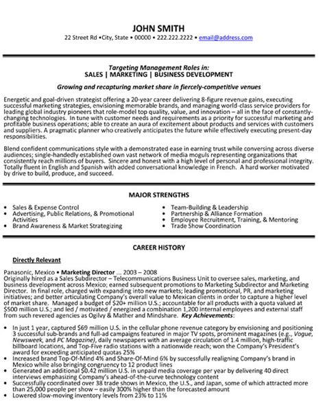 sales marketing manager resume samples visualcv resume samples