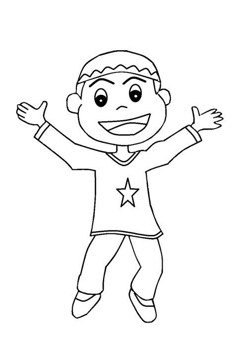 Muslim Anak 3 In 1 10 gambar mewarnai anak muslim untuk anak paud dan tk