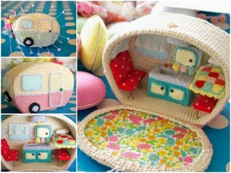 caravan knitting pattern crochet vintage caravan free pattern all the best ideas