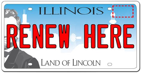 Illinois License Plate Sticker Currency Exchange