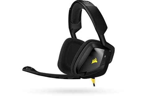 Corsair Void 7 1 Wired Gaming Headphones corsair void dolby 7 1 usb gaming headset review www