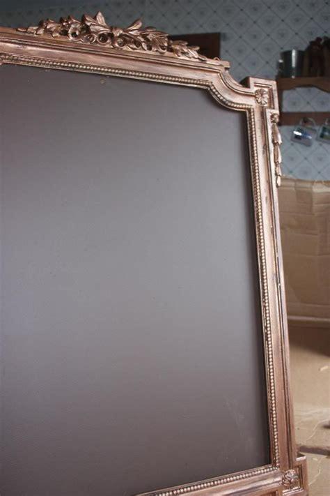 diy chalkboard frame how to diy a fancy chalkboard frame offbeat home