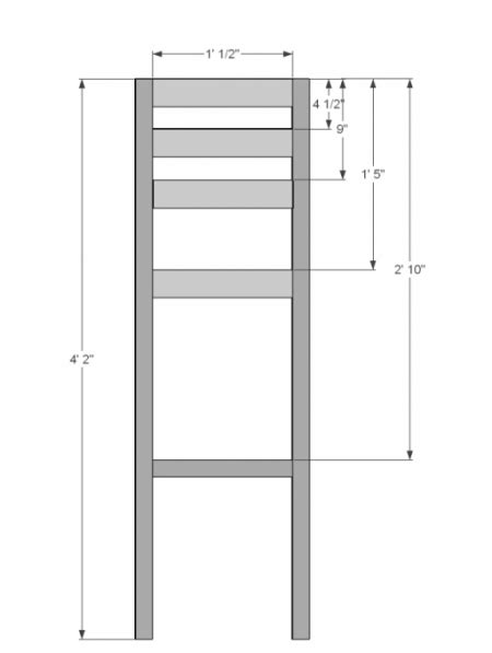 bar height stool dimensions diy counter height bar stool plan and guide diy