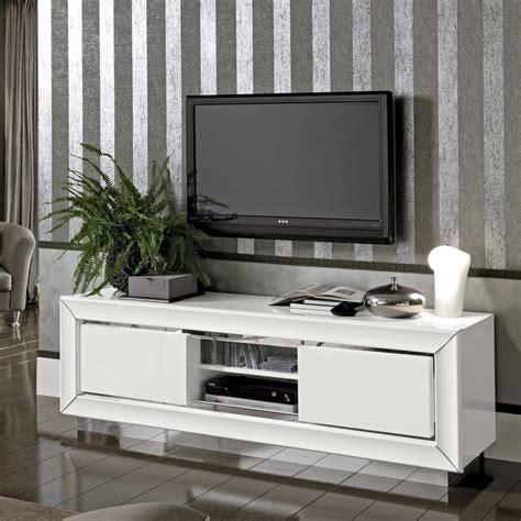 bianca white high gloss tv cabinet   interiors
