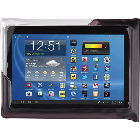 Watterproof Tablet dicapac waterproof for 10 quot tablets black wp t20 b