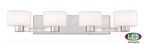 5 light bathroom vanity fixture quoizel tu8604bnled tatum contemporary brushed nickel led