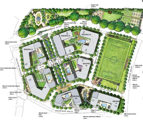 site planner lcor commons of mclean attains planning commission
